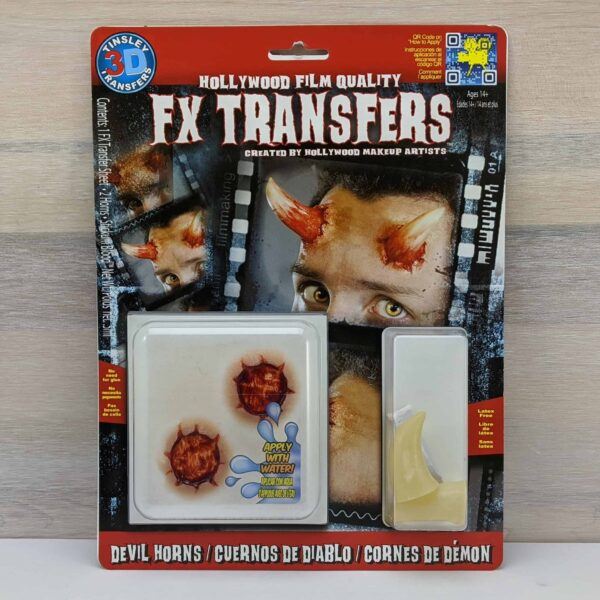 Tinsley 3D Transfers Devil Horns