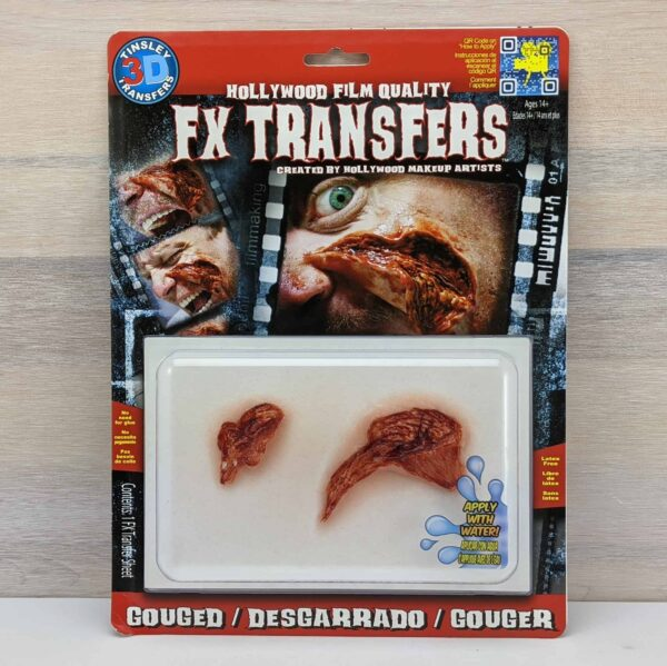 Tinsley 3D Transfers - Gouged