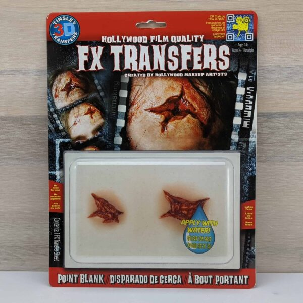 Tinsley 3D Transfers Point Blank