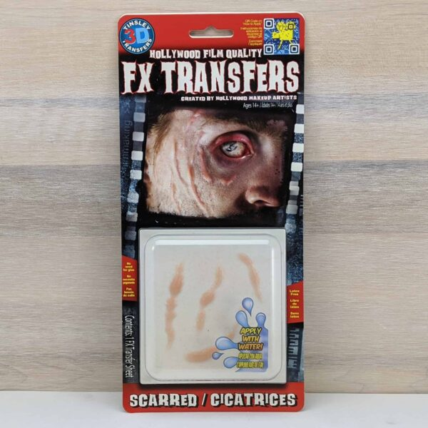 Tinsley 3D Transfers - Scarred