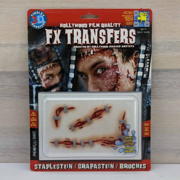 Tinsley 3D Transfers Staplestein