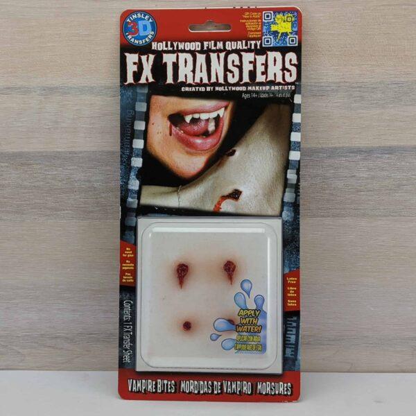 Tinsley 3D Transfers Vampire Bites