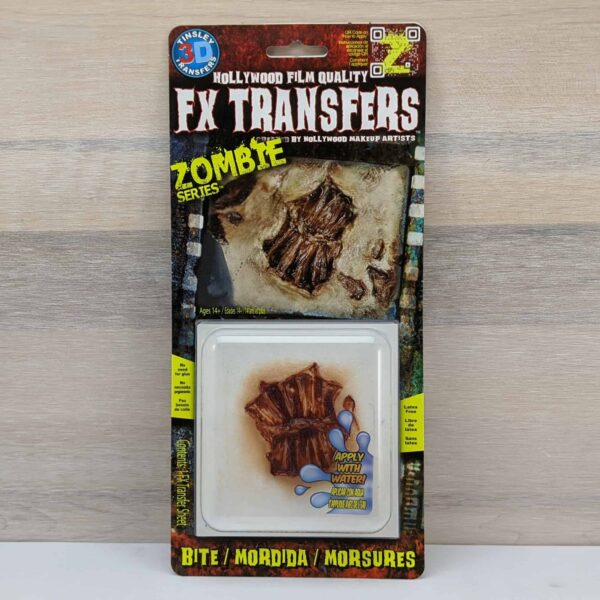 Tinsley 3D Transfers Zombie Bite