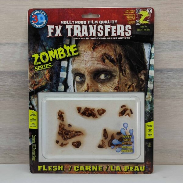 Tinsley 3D Transfers Zombie Flesh