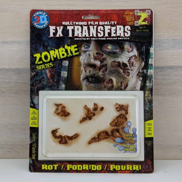 Tinsley 3D Transfers - Zombie Rot