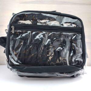 Monda Makeup Artist Clear Set Bag with Pouches