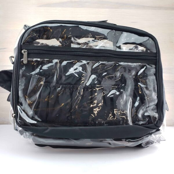 Monda Makeup Artist Clear Set Bag with Pouches scaled