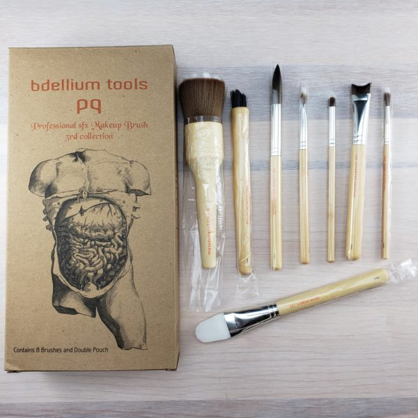 SFX 8pc. Brush Set 3rd Collection