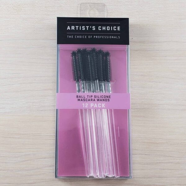 Artists Choice Ball Tip Silicone Mascara Wands 12 pack scaled