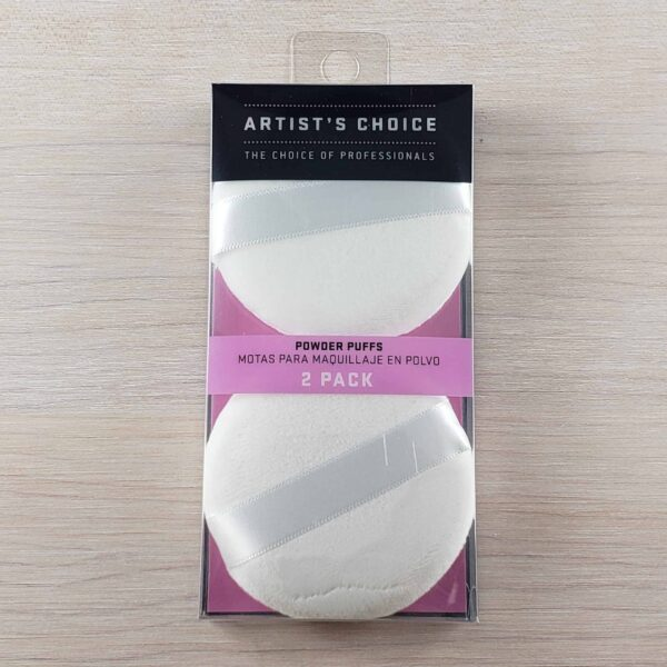 Artists Choice Powder Puffs 2 pack scaled