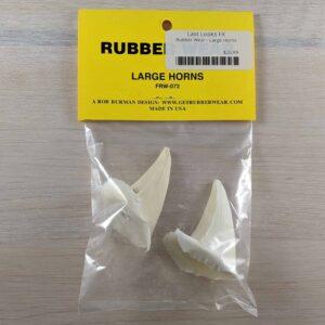 Rubber Wear Large Horns