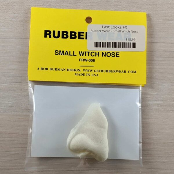 Rubber Wear Small Witch Nose