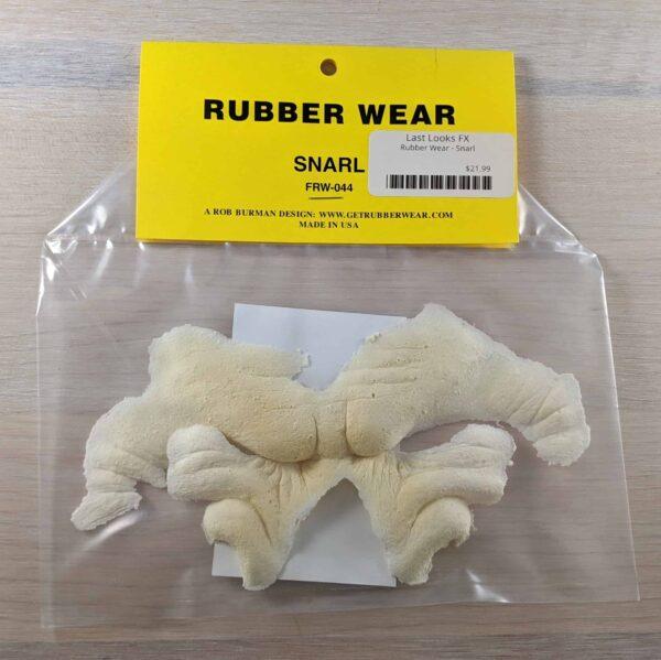 Rubber Wear Snarl