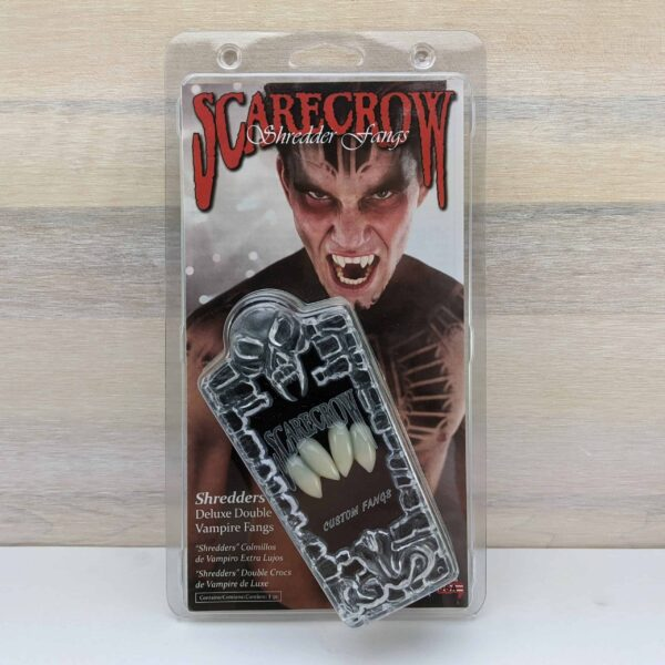 Scarecrow Shredders Double Vampire Fangs scaled