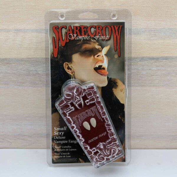 Scarecrow Small Sexy Deluxe Vampire Fangs scaled