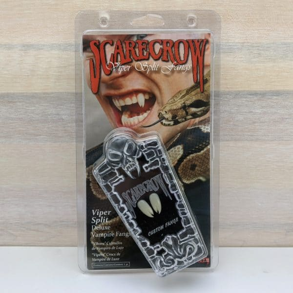 Scarecrow Viper Split Vampire Fangs