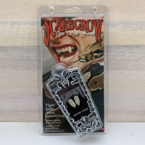 Scarecrow Viper Spllit Vampire Fangs scaled