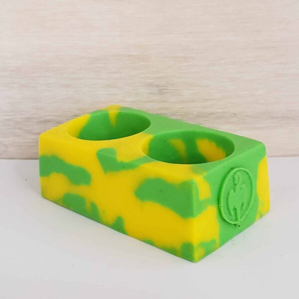 Mel CC Cup Holder Green Yellow scaled