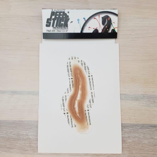 "Mel Peel & Stick Prosthetic - Deep Cut 4"""
