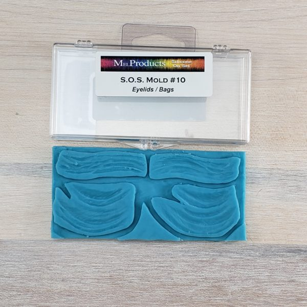 Mel S.O.S Silicone Mold - Eyelids / Bags