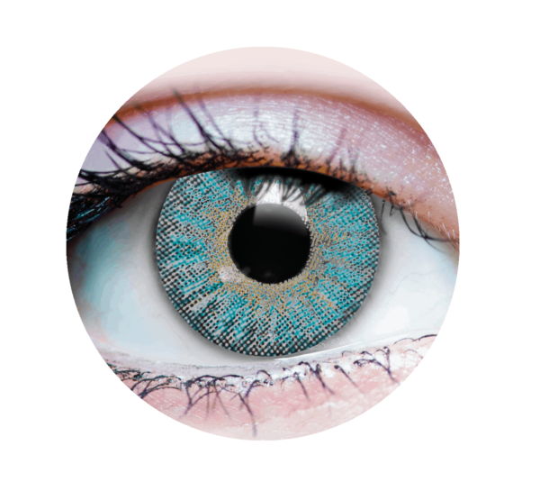 Colored Contacts - Temptation Turquoise