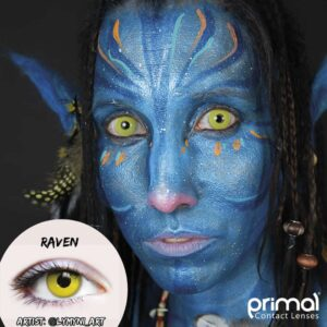 Cosplay Contacts - Raven