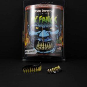 Dental Distortions Black Raptor FX Fangs 2.0