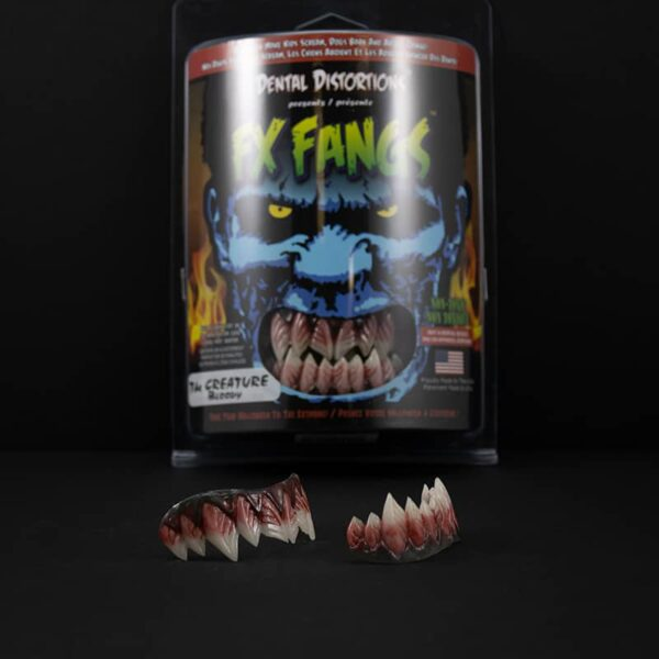Dental Distortions The Creature Bloody FX Fangs 2.0