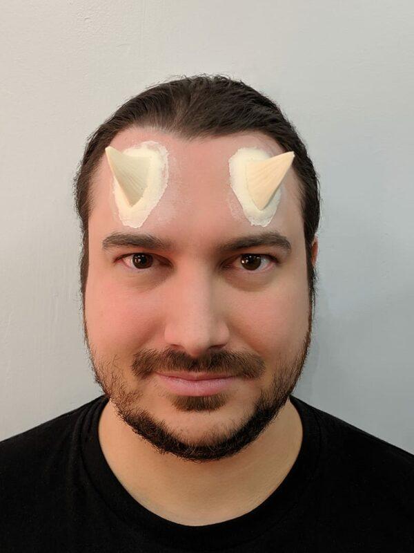 Devil Makeup Step 5